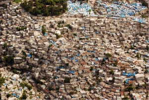 Whose density? Informal settlements ring the hillsides of Port-au-Prince. Source: IOM/UN-Habitat.