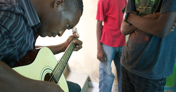 Photo: Music Heals International